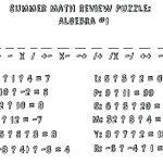 Algebra: Math Worksheet Puzzles For High School Ideas Fun Algebra   Printable Maths Puzzles Ks2