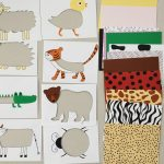 Animal Skin Puzzle For Toddlers And Kids, Printable, Diy Puzzle For   Printable Puzzles For Toddlers