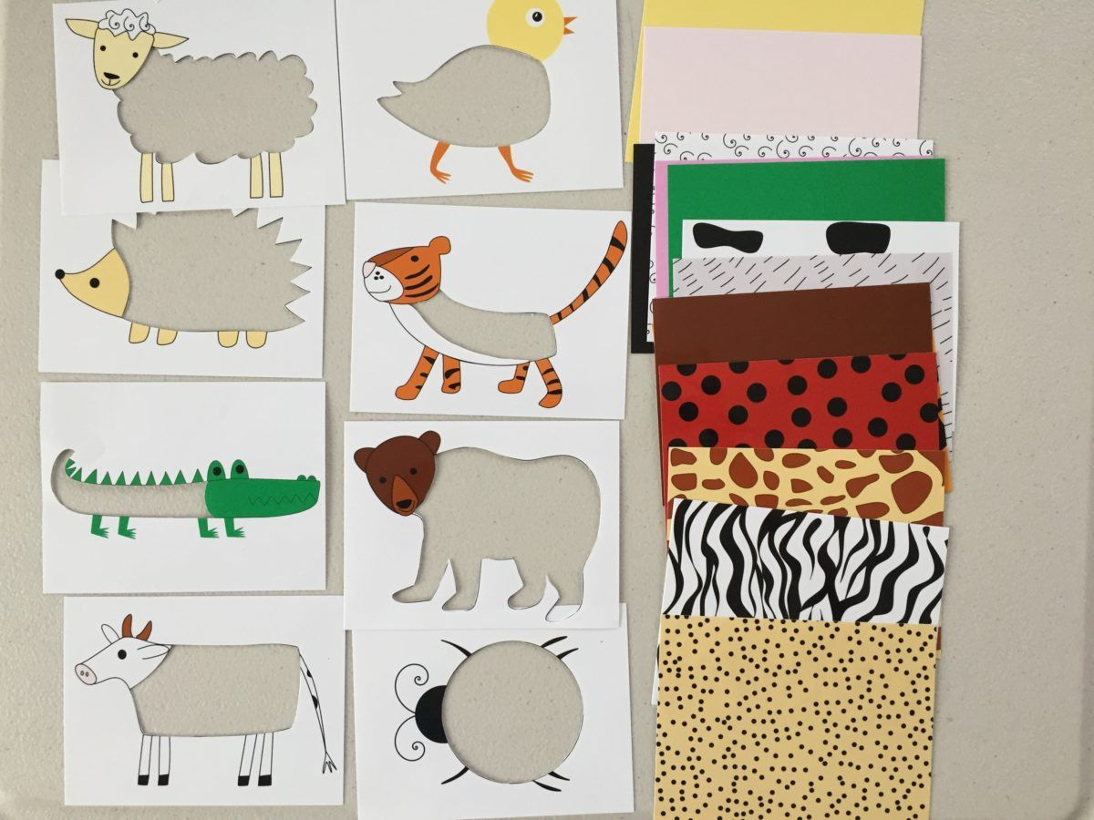Animal Skin Puzzle For Toddlers And Kids, Printable, Diy Puzzle For - Printable Puzzles For Toddlers