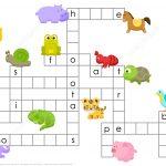 Animals Crossword Puzzle | Free Printable Puzzle Games   Printable Crossword Puzzles About Animals