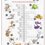 Animals Crossword Puzzle Worksheet   Free Esl Printable Worksheets   Printable Crossword Puzzles About Animals