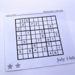 Archive Evil Puzzles – Free Sudoku Puzzles   Free Printable Sudoku 6   Printable Sudoku Puzzles 1 Per Page