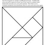 Art Element: Shape | Math | Elements Of Art, Tanagram Printables   7 Piece Tangram Puzzle Printable