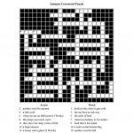 Autumn Themed Crossword Puzzle Worksheet   Free Esl Printable   Free Printable Themed Crossword Puzzles Halloween