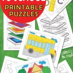 Back To School Printable Puzzles For Kids   Itsy Bitsy Fun   Printable Puzzle Paper