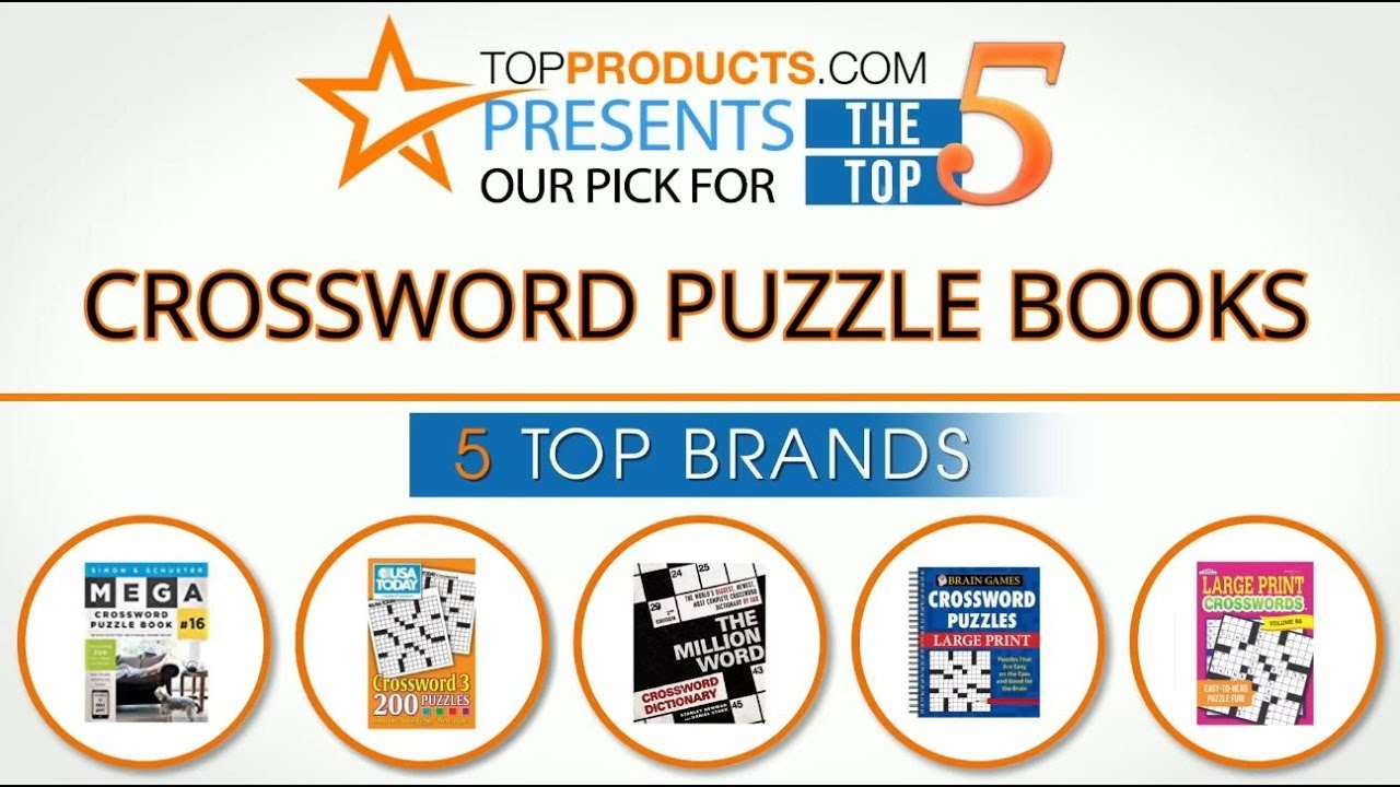 Best Crossword Puzzle Book Reviews 2017 – How To Choose The Best - Puzzle Print Reviews