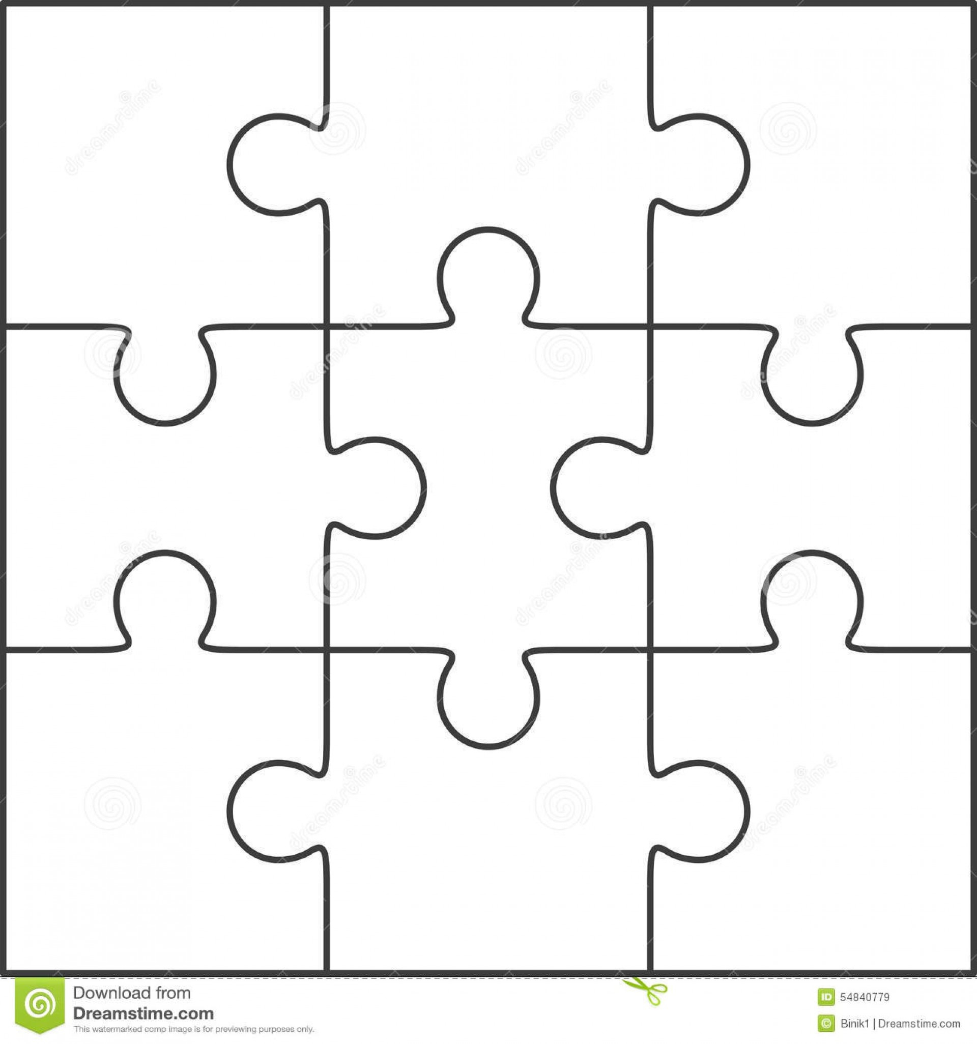 Best Jig Saw Puzzle Template Ideas Blank Jigsaw Word Free Printable - Printable Blank Jigsaw Puzzle Outline