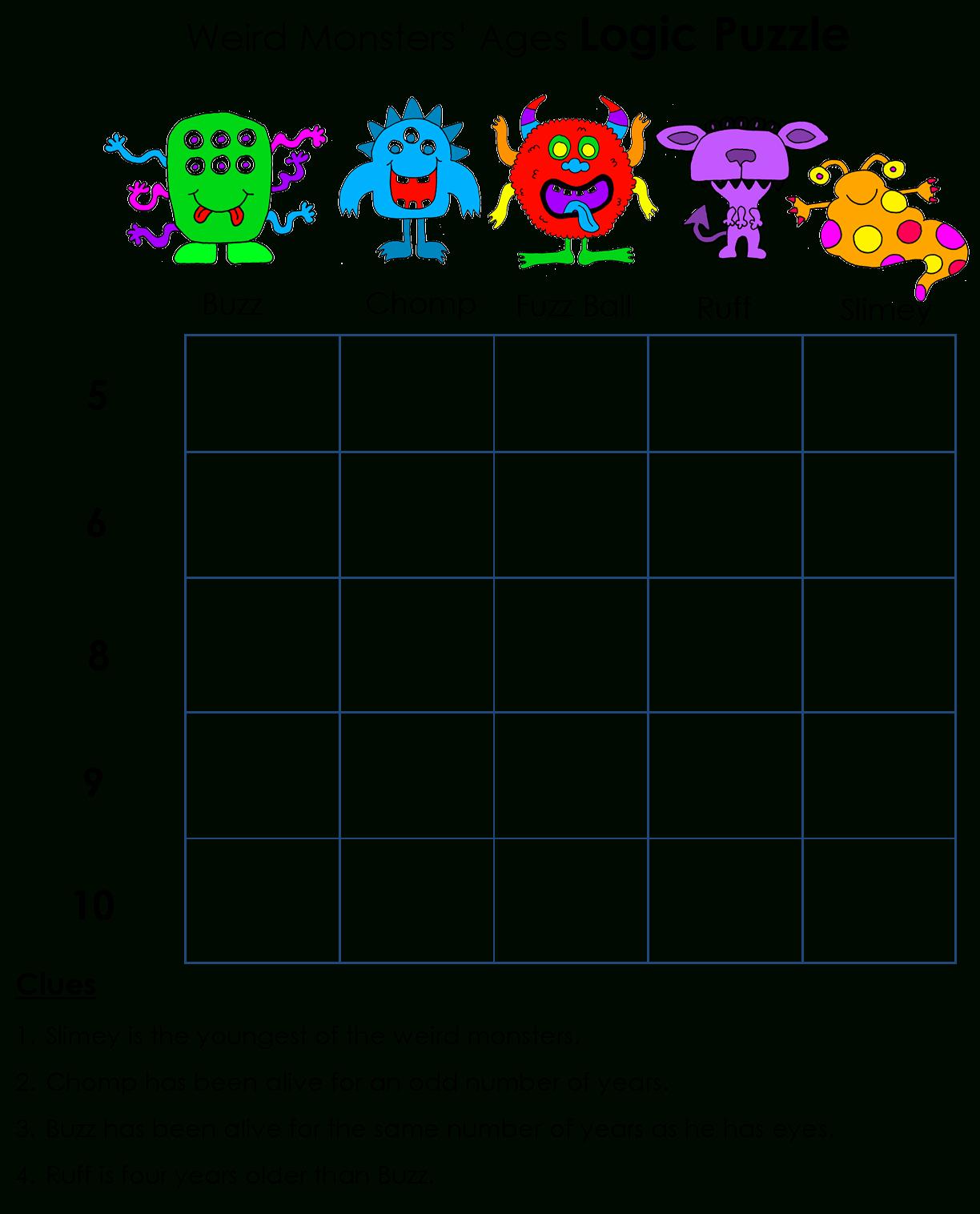 Beyond Gold Stars: Logicawesome Printable Logic Puzzles | Logic - Printable Star Puzzle