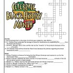 Black History Month Crossword Puzzle Worksheet | Woo! Jr. Kids   Printable History Puzzles