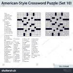 Blank Crossword Puzzle   Yapis.sticken.co   Printable Diagramless Puzzles