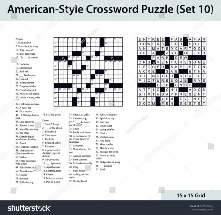 Printable Diagramless Puzzles
