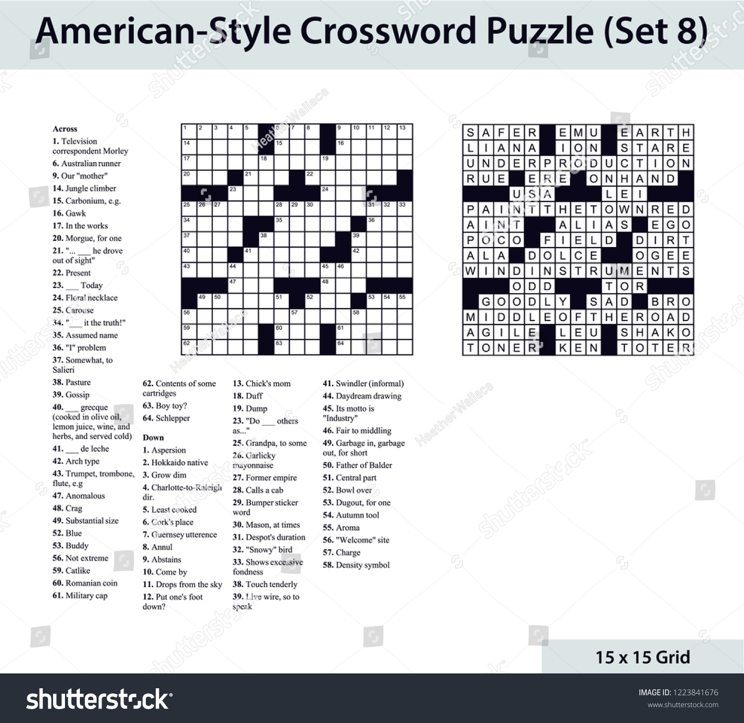 Blank Crossword Puzzle - Yapis.sticken.co - Printable Diagramless Puzzles