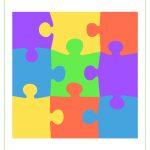 Blank Puzzle Piece Template   Free Single Puzzle Piece Images | Pdf   Printable 9 Piece Puzzle