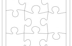 Blank Puzzle Piece Template – Free Single Puzzle Piece Images | Pdf – Printable Puzzles Pdf