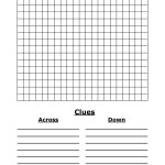 Blank Word Search | 4 Best Images Of Blank Word Search Puzzles   Crossword Puzzle Template Printable