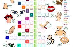 Body Parts – Crossword Worksheet – Free Esl Printable Worksheets – Printable Body Puzzle