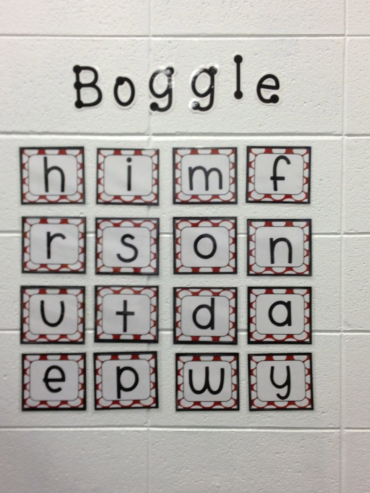 Boggle Word Game Easy | Kiddo Shelter - Printable Boggle Puzzle