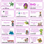 Brain Teasers, Riddles & Puzzles Card Game (Set 1) Worksheet   Free   Printable Puzzles And Brain Teasers