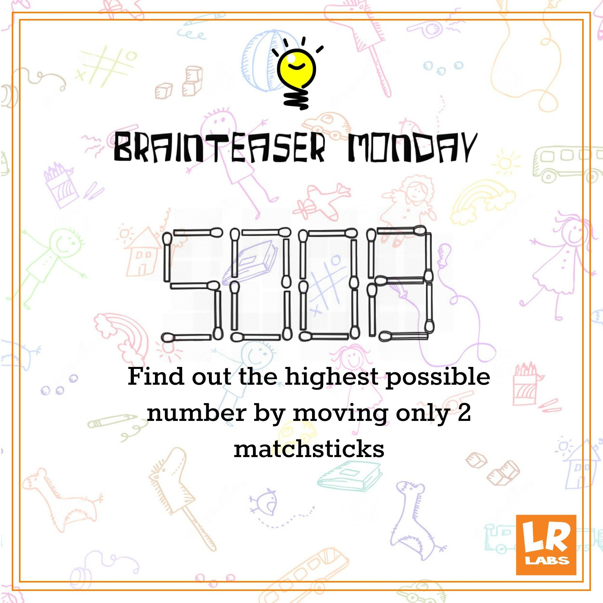 Brainteaser - The Matchstick Puzzle - Logicroots - Printable Matchstick Puzzles