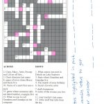 Bridal Shower Crossword Puzzle Maker   Create Your Own Crossword Puzzle Free Printable