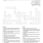 Bugs Crossword Puzzle Template | Templates At Allbusinesstemplates   Printable Crossword Template
