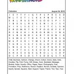 Calendars   Printable Wonderword Puzzles Download