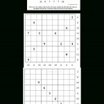Can You Solve It? Sandwich Sudoku   A New Puzzle Goes Viral   Guardian Quick Crossword Printable Version