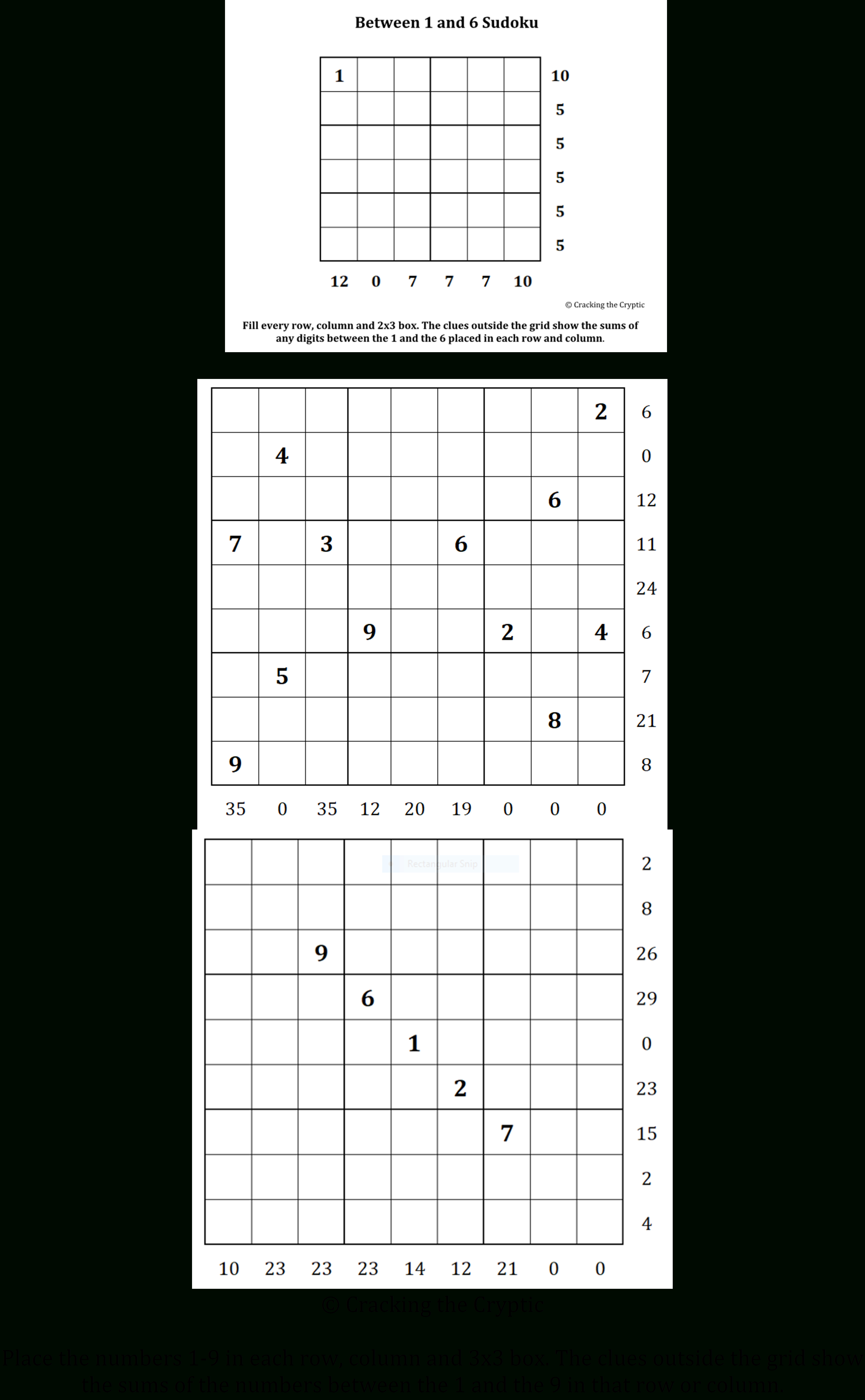 Can You Solve It? Sandwich Sudoku - A New Puzzle Goes Viral - Guardian Quick Crossword Printable Version