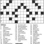 Can You Solve The Star's First Ever Crossword Puzzle From 1924   Printable Crossword Toronto Star