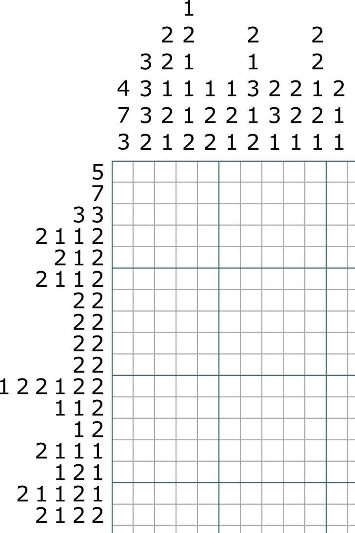 Printable Picross Puzzles