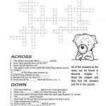 Ccbc Kids Corner: Scripture Search Crossword #2   Printable Crossword #2