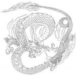 Chinese Dragon Coloring Page | Free Printable Coloring Pages   Printable Dragon Puzzle