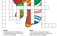 Christmas Crossword Puzzles – Best Coloring Pages For Kids – Printable Crossword Puzzles Christmas