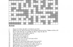 Christmas Crossword Puzzles To Print | The Completely Crackers – Printable Cryptic Crossword Puzzles Free