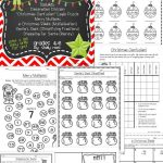 Christmas Math Worksheets | Math Activities And Lessons | Christmas   Printable Puzzle Packet
