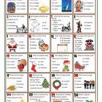 Christmas Quiz Worksheet   Free Esl Printable Worksheets Made   Printable Christmas Puzzles And Quizzes