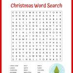 Christmas Word Search Free Printable For Kids Or Adults   Free Printable Christmas Crossword Puzzles