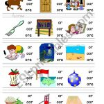 Circle Sound Puzzle 9: Phonics The /or/ Sound   Esl Worksheet   Printable Phonics Puzzles