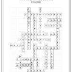 Circles Vocabulary Crossword | My Tpt Items | Geometry Worksheets   Printable English Crossword Puzzles With Answers Pdf