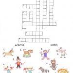 Circus Worksheets   Pesquisa Google | Psych Activities | Circus   Circus Crossword Puzzle Printables