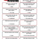 Clever Riddles For Kids With Answers (Printable Riddles!) | For The   Printable Puzzles With Answers