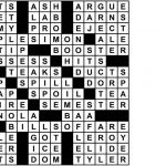 Collection Of Universal Crossword Puzzle Printable (23+ Images In   Printable Universal Crossword