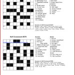 Coloring ~ Marvelous Large Print Crosswords Photo Ideas Free   Printable Crosswords For 6 Year Olds