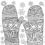 Coloring Page ~ Excelent Winter Colorings For Kids Puzzle Printable   Printable Puzzle Coloring Pages