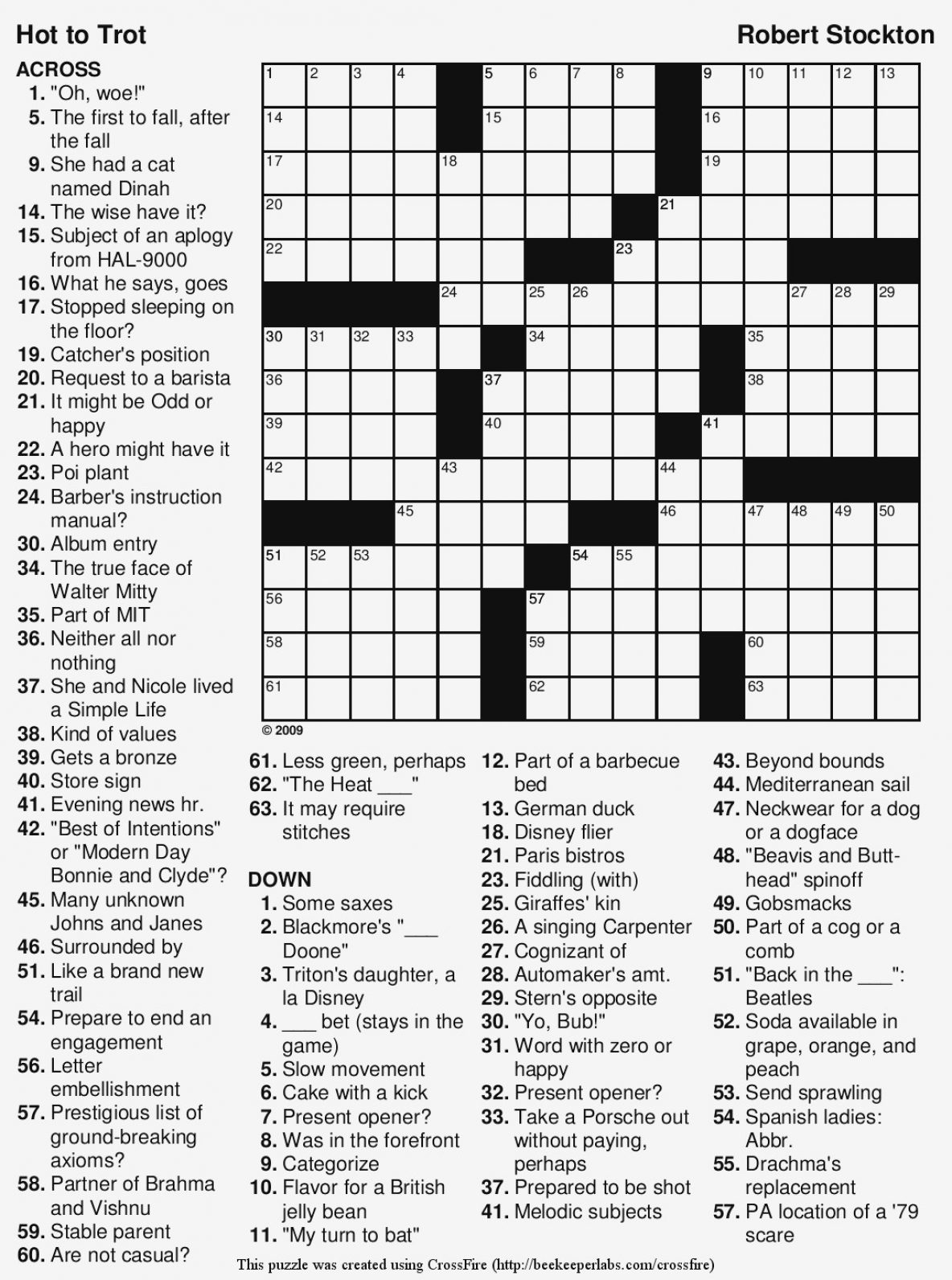 Coloring ~ Splendi Large Print Crossword Puzzles Photo Inspirations - Easy Printable Crossword Puzzles For Adults