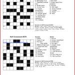 Coloring ~ Splendi Large Print Crossword Puzzles Photo Inspirations   Free Printable Universal Crossword