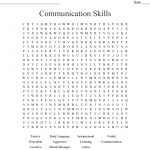 Communication Skills Word Search   Wordmint   Printable Communication Crossword Puzzle