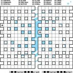 Criss Cross Word Puzzle   Fill In The Blanks Of The Crossword Puzzle   Printable Crossword Puzzle Grid