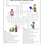 Cross Word Puzzles For Kids School | K5 Worksheets | Puzzles | Word   Printable Crossword Puzzles For Kids With Word Bank
