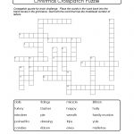 Crosspatch Xmas Printable Puzzle. Support Vocab Development And   Printable Vocabulary Quiz Crossword Puzzle